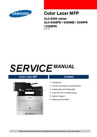 Service Manual Samsung CLX-6260FR