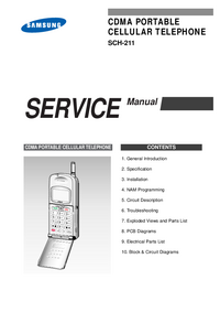 Instrukcja serwisowa Samsung SCH-211