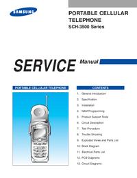 manuel de réparation Samsung SCH-3500