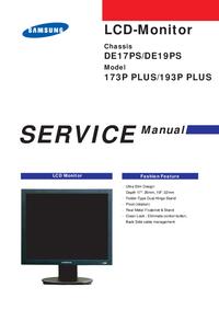 Manuale di servizio Samsung DE19PS