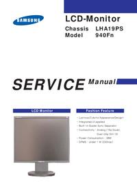 Service Manual Samsung LHA19PS