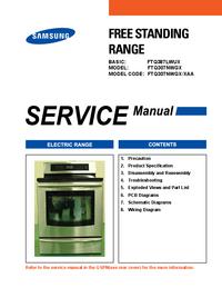Manuale di servizio Samsung FTQ307NWGX
