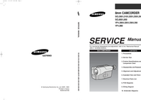 Service Manual Samsung SCL800
