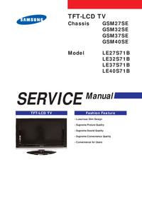 Serviceanleitung Samsung LE27S71B