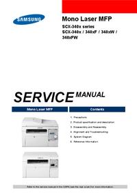 Manuale di servizio Samsung SCX-340x