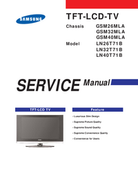 Servicehandboek Samsung GSM26MLA