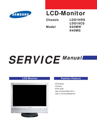 manuel de réparation Samsung LDO19CS