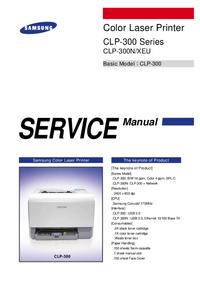 Service Manual Samsung CLP-300N/XEU