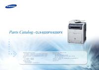 Ersatzteil-Liste Samsung CLX-6250FX