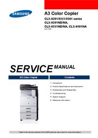 Manuale di servizio Samsung CLX-9301NA