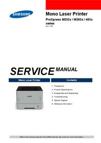 Руководство по техническому обслуживанию Samsung ProXpress 402x Series