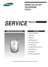 Servicehandboek Samsung SCH-811