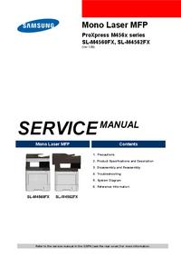 manuel de réparation Samsung ProXpress M456x Series