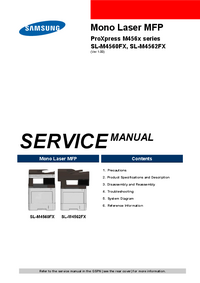 Manual de serviço Samsung ProXpress M456x Series