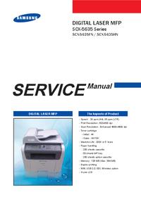 Manual de servicio Samsung SCX-5635 Series