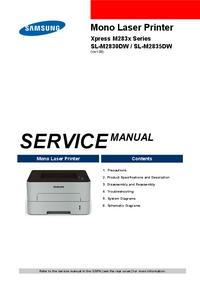 Service Manual Samsung Xpress M283x Series