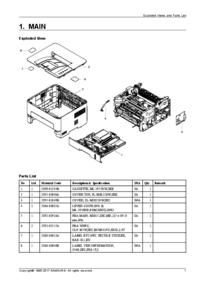 Service Manual, Liste partie seulement Samsung Xpress SL-M3015dw