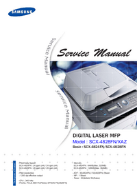 Instrukcja serwisowa Samsung SCX-4828FN