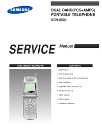 Manual de servicio Samsung SCH-8500