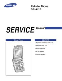 Service Manual Samsung SCH-A212