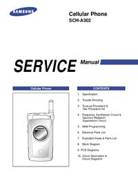 Serviceanleitung Samsung SCH-A302