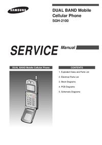 Service Manual Samsung SGH-2100
