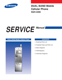 Manual de serviço Samsung SGH-2200