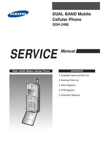 Service Manual Samsung SGH-2488