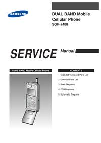 manuel de réparation Samsung SGH-2488