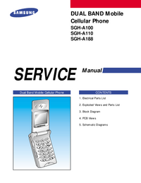 Service Manual Samsung SGH-A188