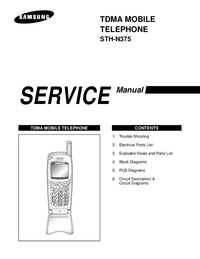 Service Manual Samsung STH-N375