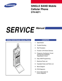 Service Manual Samsung STH-N271