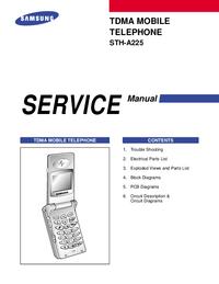 Manual de servicio Samsung STH-A225