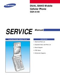 Instrukcja serwisowa Samsung SGH-A100
