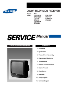 Service Manual Samsung CT3366BZX