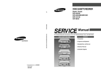 Service Manual Samsung SVR-443