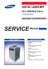Service Manual Samsung CLX-6200ND