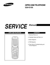 Service Manual Samsung SGH-S100