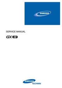 Servicehandboek Samsung GX10
