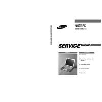 Service Manual Samsung SENS P20 Series
