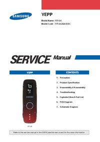 Manual de servicio Samsung YEPP YP-U3