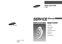 Service Manual Samsung YP-20S