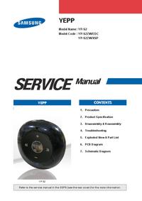 Servicehandboek Samsung YEPP YP-S2