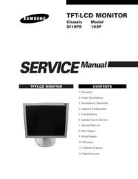 Instrukcja serwisowa Samsung 193P