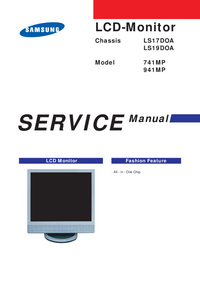 Service Manual Samsung 741MP
