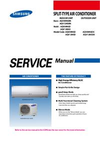 Servicehandboek Samsung AQV12NSDX