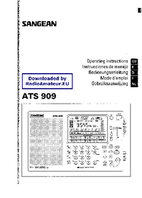 User Manual Sangean ATS 909