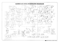 Cirquit Diagram Sansui AU-555A