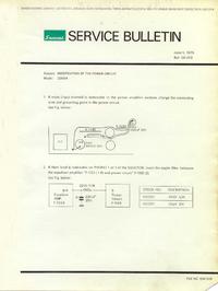 Erweiterung zur Serviceanleitung Sansui 2000A