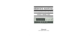 Service and User Manual Sansui 3000